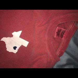 Comfort Colors Tops - comfort colors texas forever t shirt